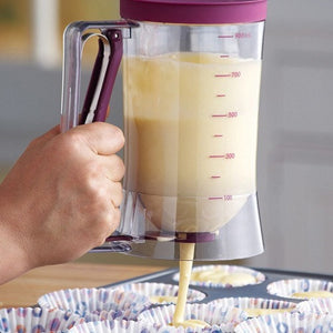 Batter Dispenser With Measurements - Goamiroo Store