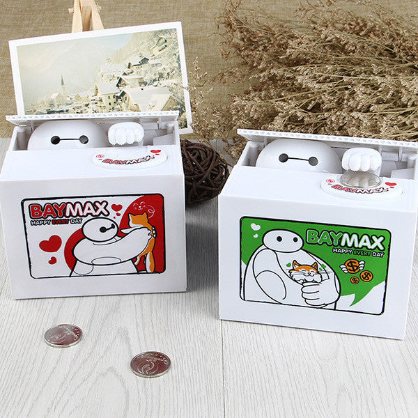 tealing Coin Baymax Bank