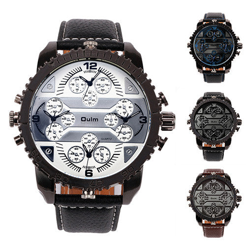 Oulm HP3233 Men's Multi Display Watch - 4 Styles-GoAmiroo Store