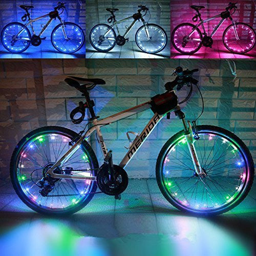Bright 20-LED Bike Rim Lights