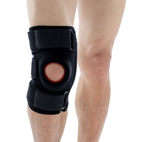 Enhanced Breathable Knee Support with 4 Carbon Bones