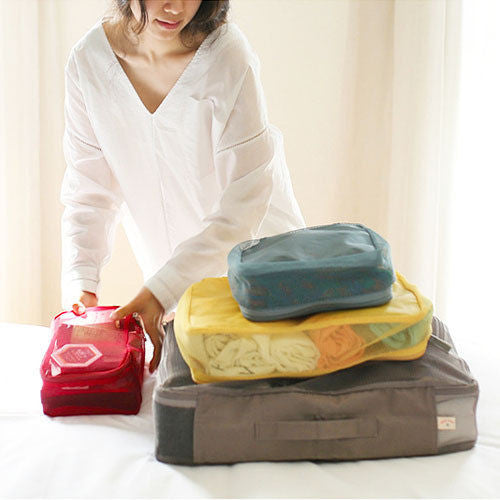 Four Piece Luggage Organiser