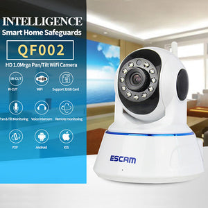 Escam Qf002 720P Wireless Camera - Goamiroo Store