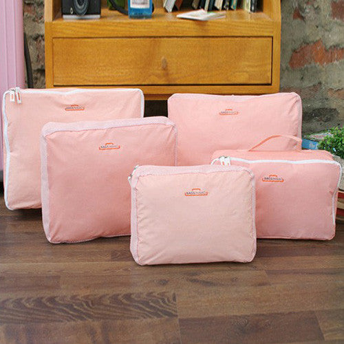 5 Piece Luggage Organisers