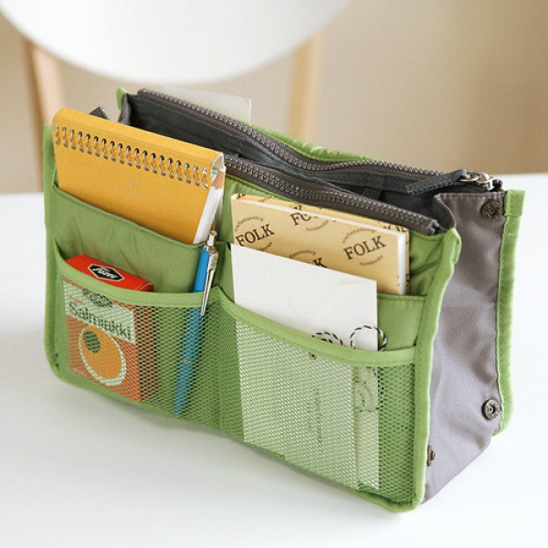 Slim Bag-in-Bag Handbag Organizer