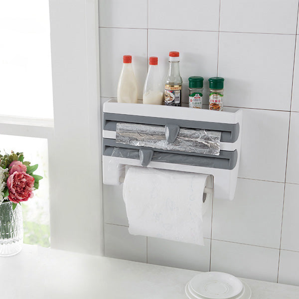 4-In-1 Kitchen Roll Holder Dispenser-GoAmiroo Store