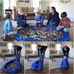 Foldable Storage Play Mat with 150cm Width-GoAmiroo Store
