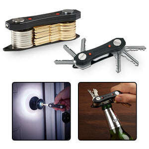 2-Pack Key Organizer with LED Lights-GoAmiroo Store