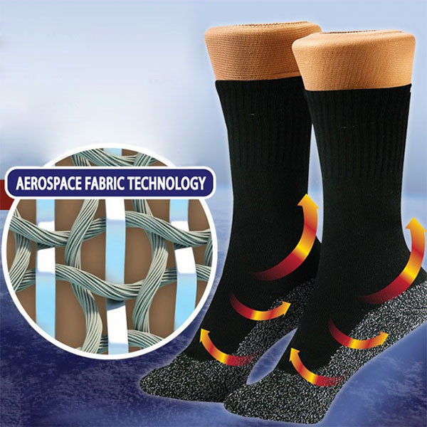 3-Pair Anti-Cold Aluminized Fibers Socks