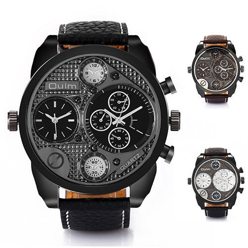 Oulm HP9316 Men's Multi Display Watch