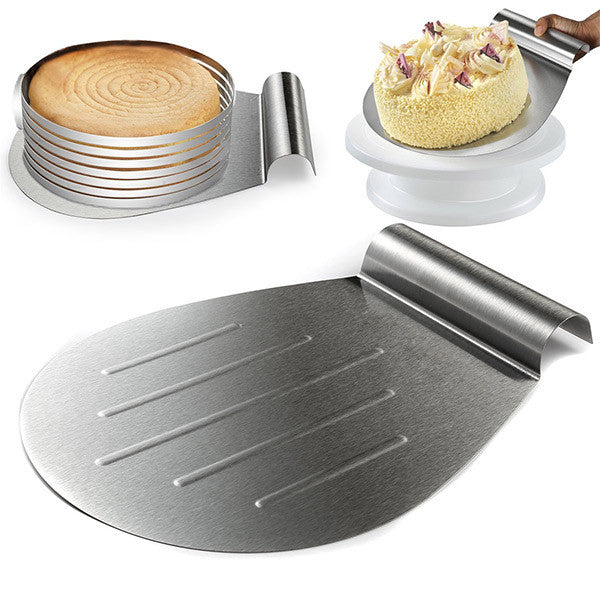 Stainless Steel Cake Lifter-GoAmiroo Store