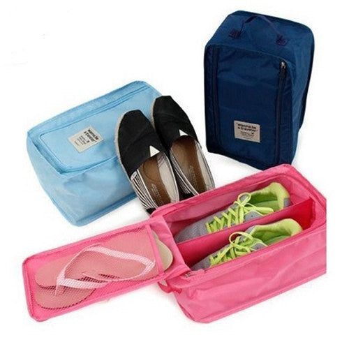 Waterproof Nylon Travel Shoe Bag