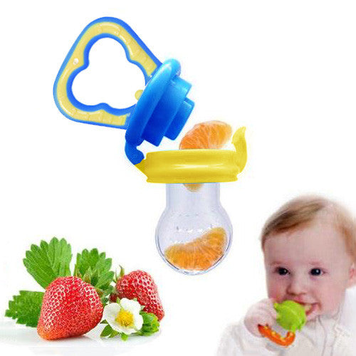 2Pcs Baby Food Pacifier
