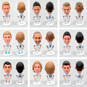 Football Player Team Real Madrid 2.5Inch Action Figure 14 Styles - Goamiroo Store