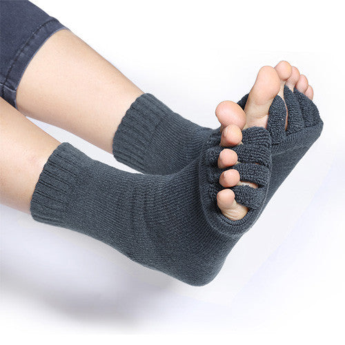 2 Pairs of Foot Alignment Socks-GoAmiroo Store