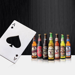 Set of 3 Poker Bottle Openers-GoAmiroo Store