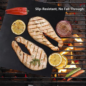 Set Of 3 Nonstick Grilling Mats - Goamiroo Store