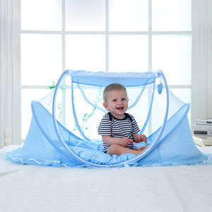Baby Foldable Crib With Mosquito Net - Goamiroo Store