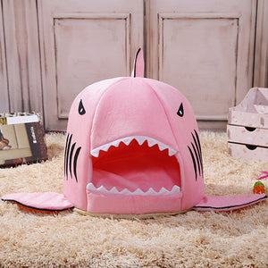 Shark Bed For Small Cat And Dog - Goamiroo Store