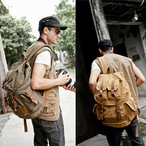 Multi-Functional Travel Backpack With Slr Container - 2 Styles - Goamiroo Store
