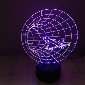 Time Tunnel Colorful 3D Led Lamp - Goamiroo Store