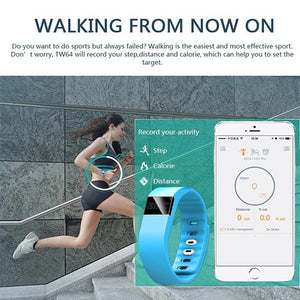 Tw64 Bluetooth Fitness Tracker Watch - Goamiroo Store