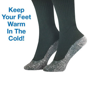3-Pair Anti-Cold Aluminized Fibers Socks-GoAmiroo Store
