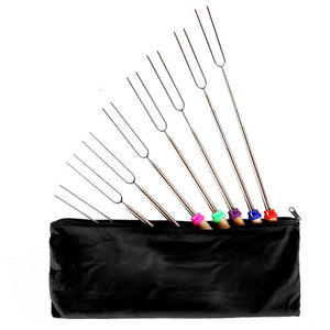 Set Of 8 Roasting Sticks - Goamiroo Store