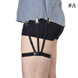 2 Pairs of Stay-Tucked Shirt Garters-GoAmiroo Store