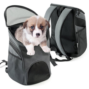 Pet Travel Backpack With Mesh Window - Goamiroo Store