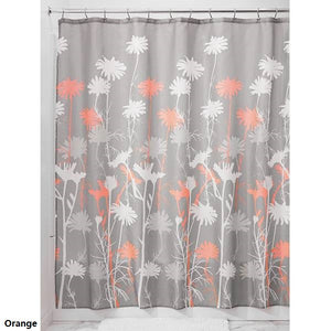 Daizy Fabric Shower Curtain - 3 Colors - Goamiroo Store