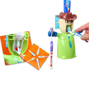 Warriors Toothpaste Dispenser & Holder - Goamiroo Store