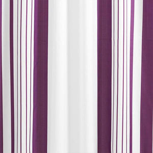 Vertical Stripes Fabric Shower Curtain-GoAmiroo Store