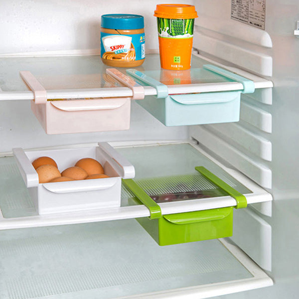 Set of 4 Fridge Storage Rack Shelves-GoAmiroo Store