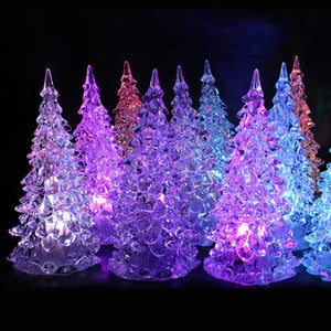 Set Of 5 Mini Led Xmas Tree Style Lights - Goamiroo Store