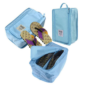 Waterproof Nylon Travel Shoe Bag - Goamiroo Store