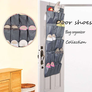 20 Pockets Over-the-Door Shoe Organizer-GoAmiroo Store