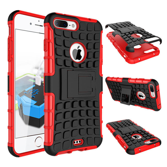 Rugged Case with Back shell bracket for Extreme Protection and Extra Grip