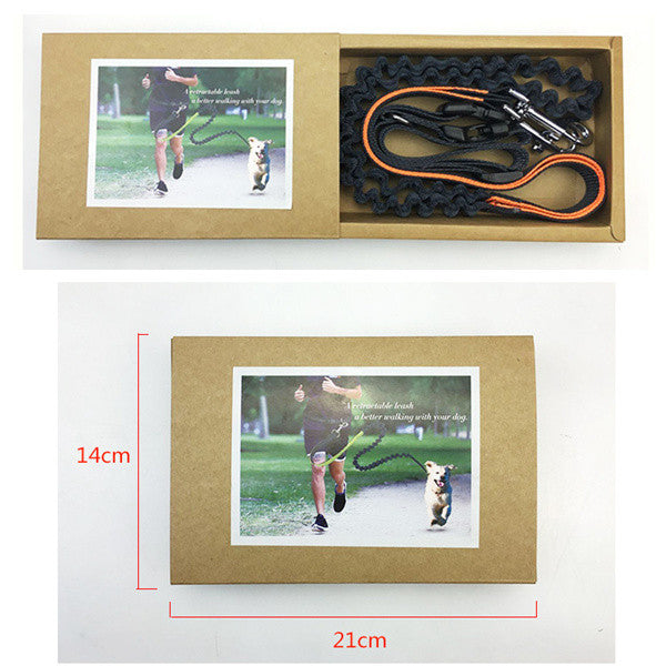 Dog Running Traction Elastic Rope-GoAmiroo Store