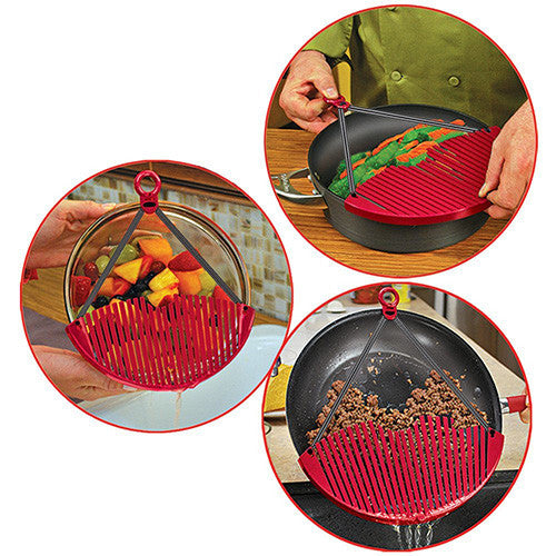 Set of 2 Expandable Strainers-GoAmiroo Store