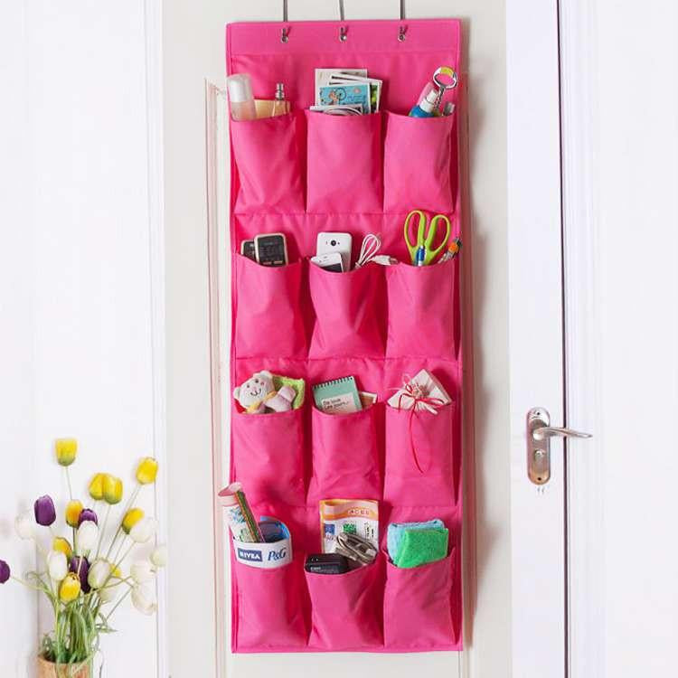 12 Pockets Over-the-Door Shoe Organizer-GoAmiroo Store