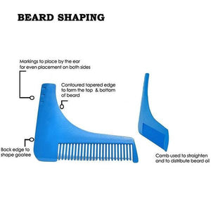 Beard Shaping Tool - Goamiroo Store