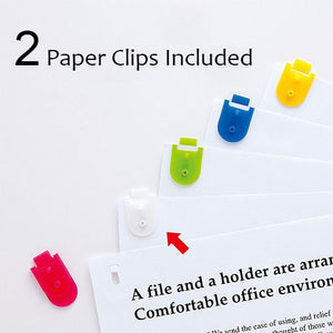 Staple Free Paper Clinch