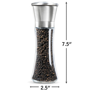 Tall Body Salt And Pepper Grinder Setset Of 2) - Goamiroo Store