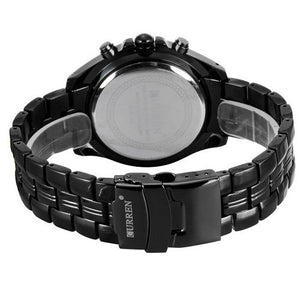 Mens Stainless Steel Sport Quartz Watch - Goamiroo Store