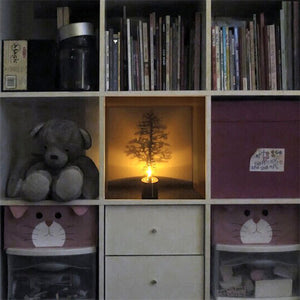 Led Shadow Projector - Pine - Goamiroo Store
