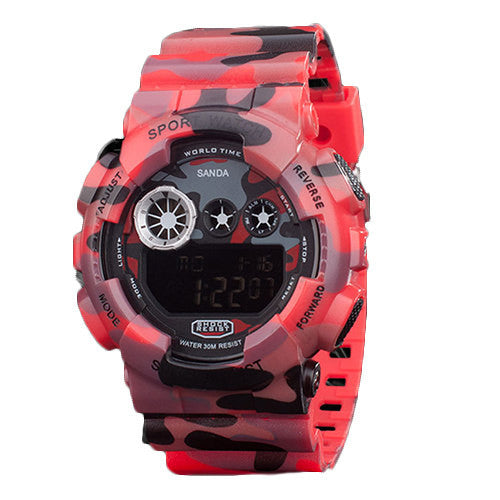 Camouflage Style Waterproof Digital Watches