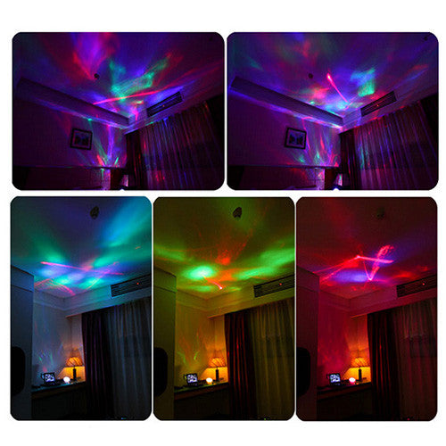 Color Diamond Light Projector with Speaker-GoAmiroo Store