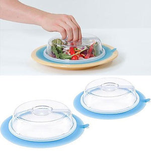 2Pcs Microwave Plate Topper-GoAmiroo Store