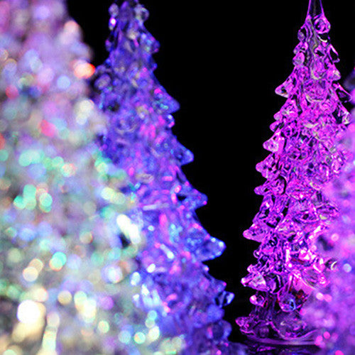 Set of 5 Mini LED Xmas Tree Style Lights-GoAmiroo Store
